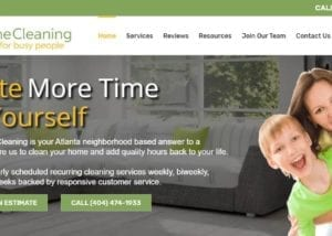 Wordpress Websites for House Cleaning Businesses