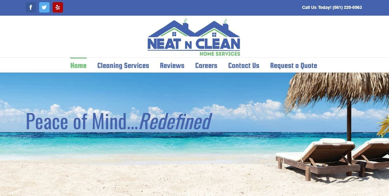 Website Design for House Cleaning Companies