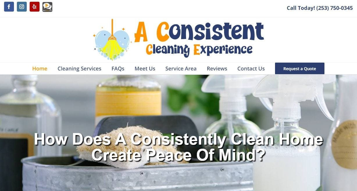 A Consistent Cleaning Experience, LLC | Lake Bonney, WA
