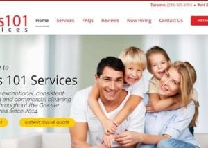 Mel's 101 Services | Wordpress Website Design for Cleaning Businesses